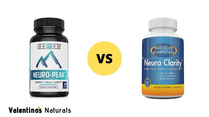 neuro peak vs neuro clarity which nootropic brain supplement is better